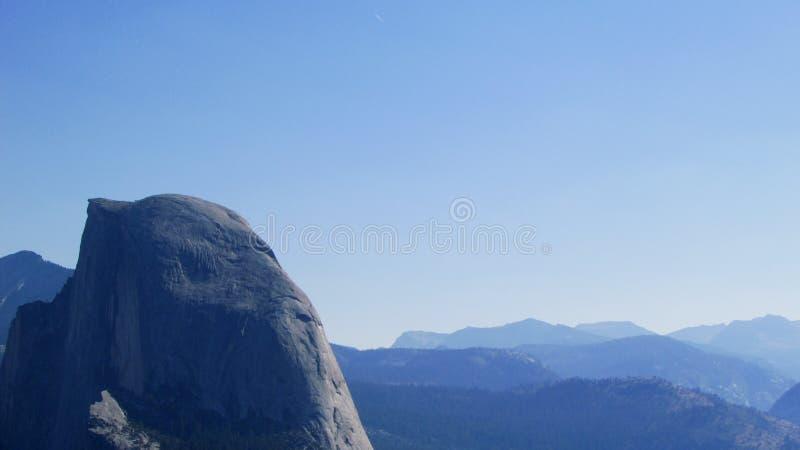 Halve Koepel, Nationaal Park Yosemite royalty-vrije stock foto's