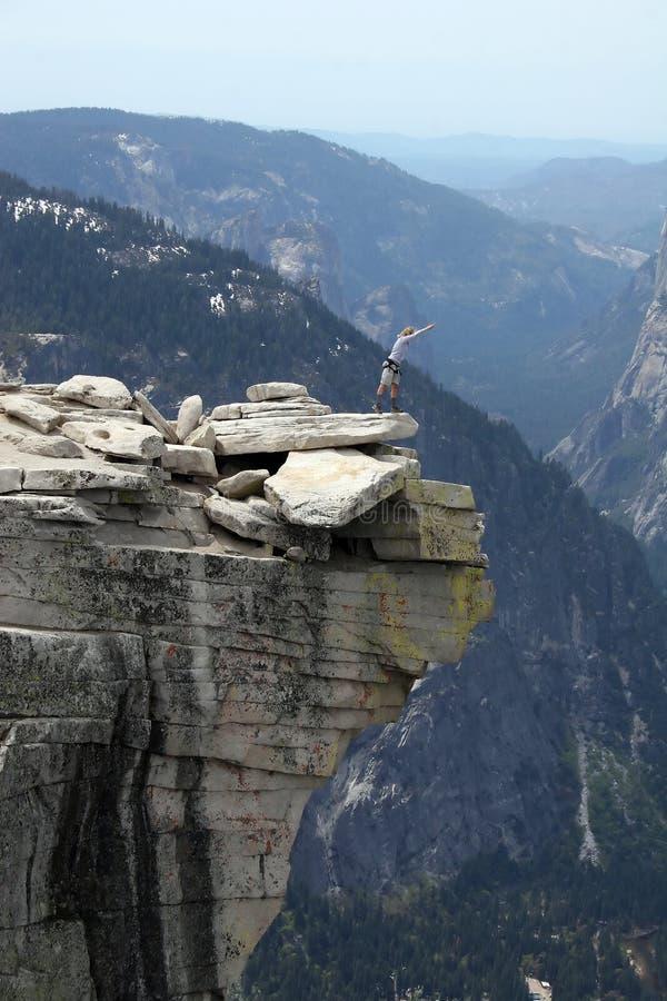 Halve Koepel, Yosemite stock foto's