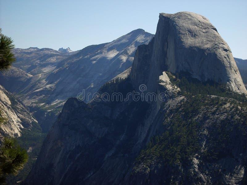 Halve Koepel, Yosemite royalty-vrije stock foto