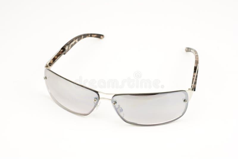 Halve spiegelzonnebril stock foto's