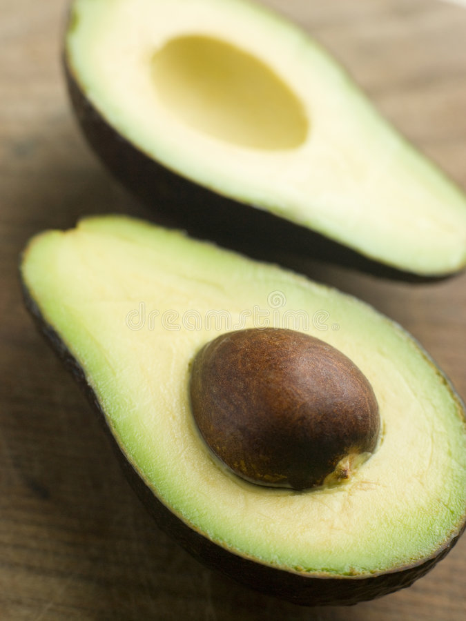 Download Halved Avocado stock photo. Image of studio, nutrition - 7229696