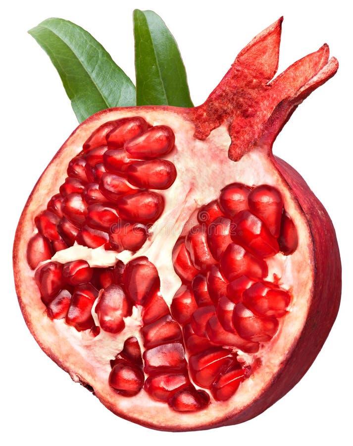 Free Halved Pomegranate Fruit Stock Photos - 17282303