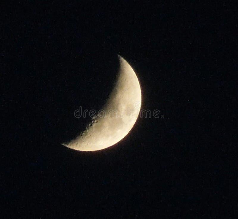 Halvmåne arkivfoto