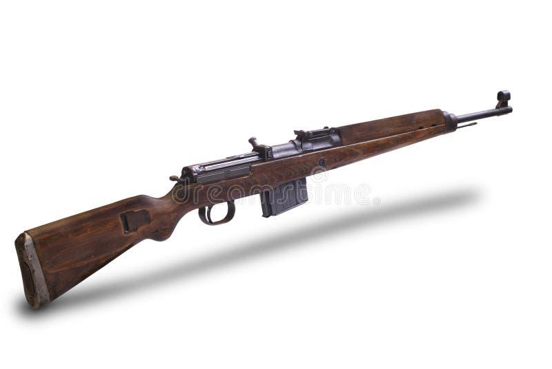 halvt automatiskt tyskt gevär för gewehr 43 royaltyfri bild