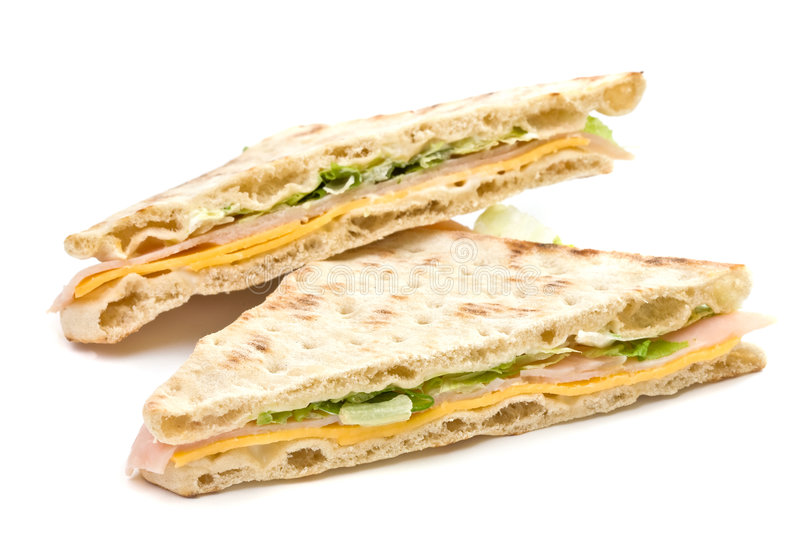 Download Ham and cheese sandwich stock photo. Image of lettuce - 4043832