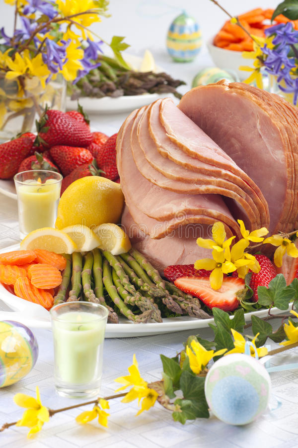 Ham For Easter royalty free stock images