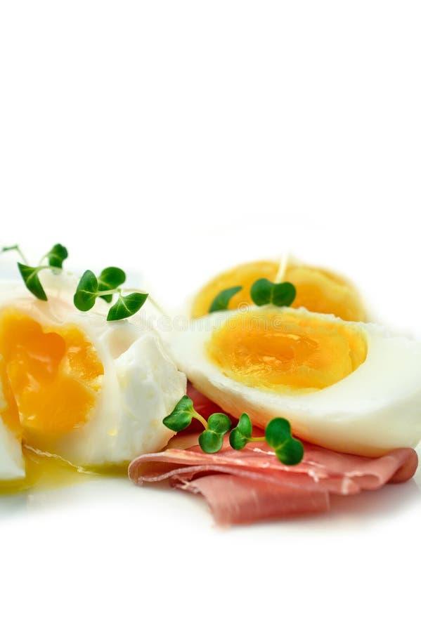 Ham And Egg Macro 2 immagine stock libera da diritti
