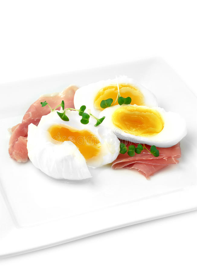 Ham And Eggs fotografia stock libera da diritti