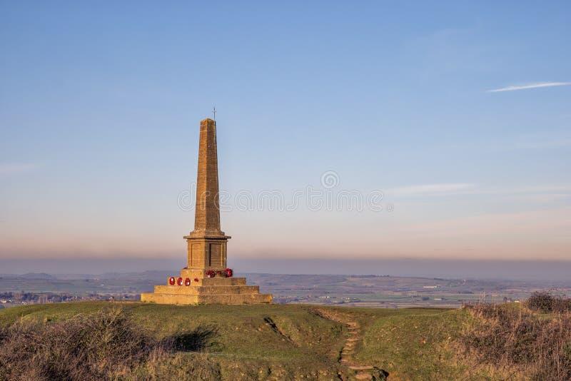 Ham Hill War Memorial lizenzfreie stockbilder