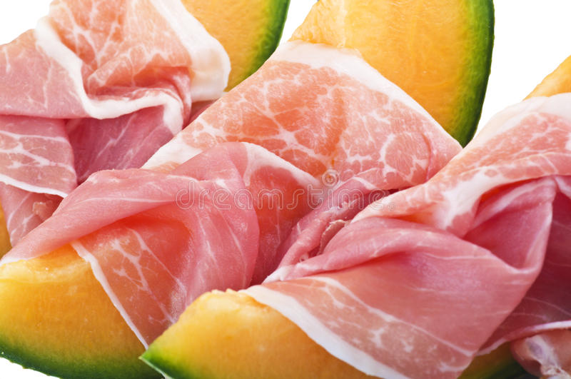 Download Ham and melon stock photo. Image of diuretic, seeds, summer - 22636036