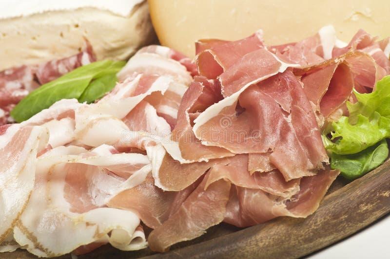 ham and salad stock photos