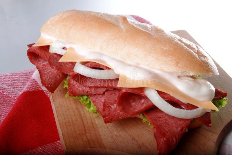 Ham Sandwich fotografía de archivo libre de regalías