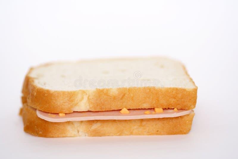 Ham sandwich royalty free stock image