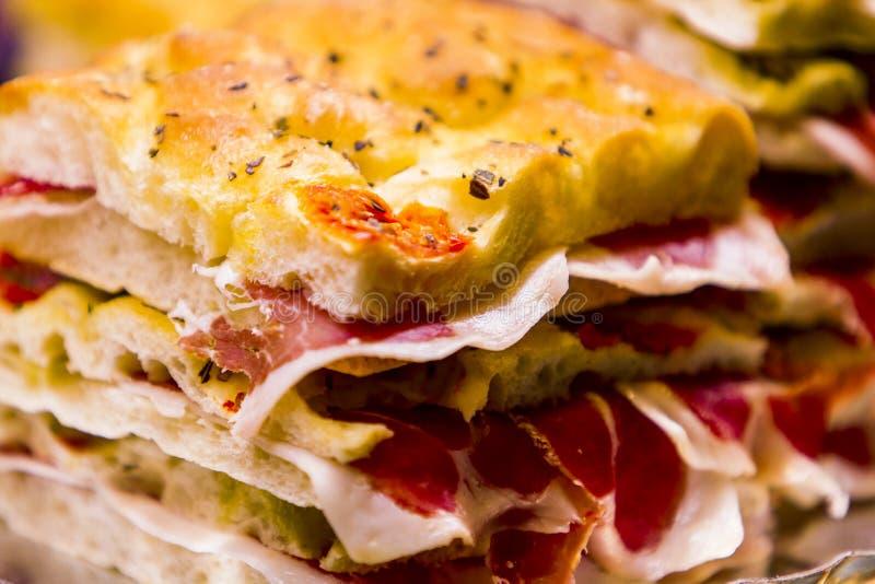 Ham sendwich royalty free stock photos
