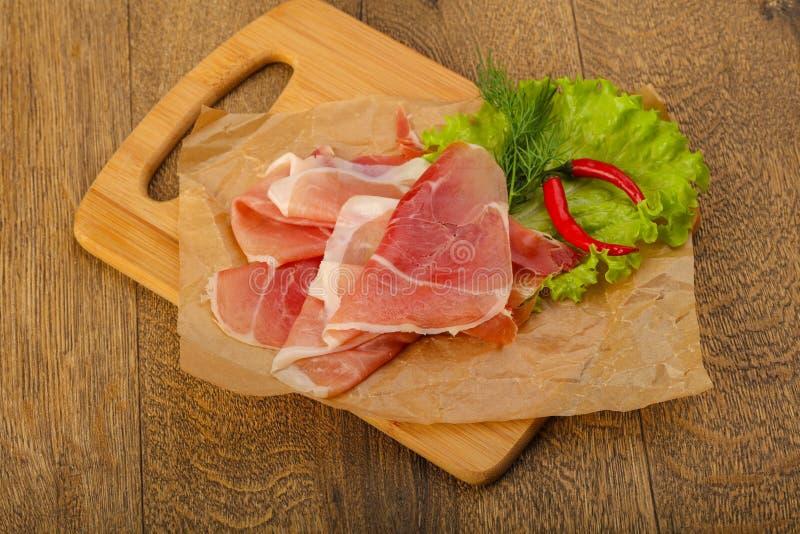 Ham serrano royalty free stock image