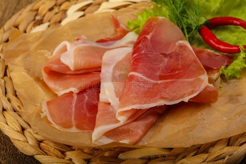 Ham serrano royalty free stock photo