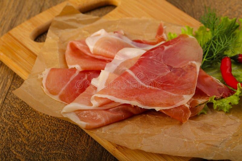 Ham serrano royalty free stock photography