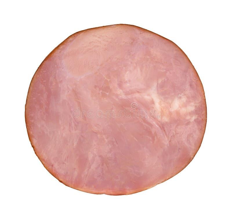 Ham Slice Top View foto de stock royalty free