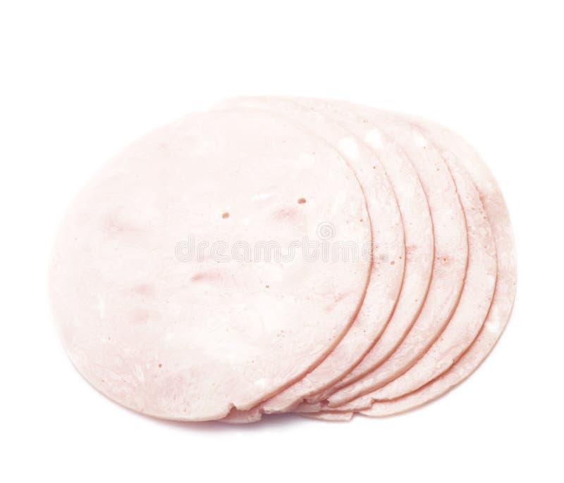 Ham slices stock images