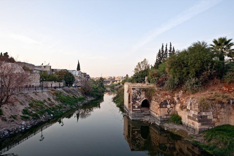hama syria royaltyfria foton