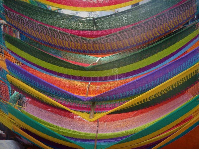 Hamacs color?s photo libre de droits