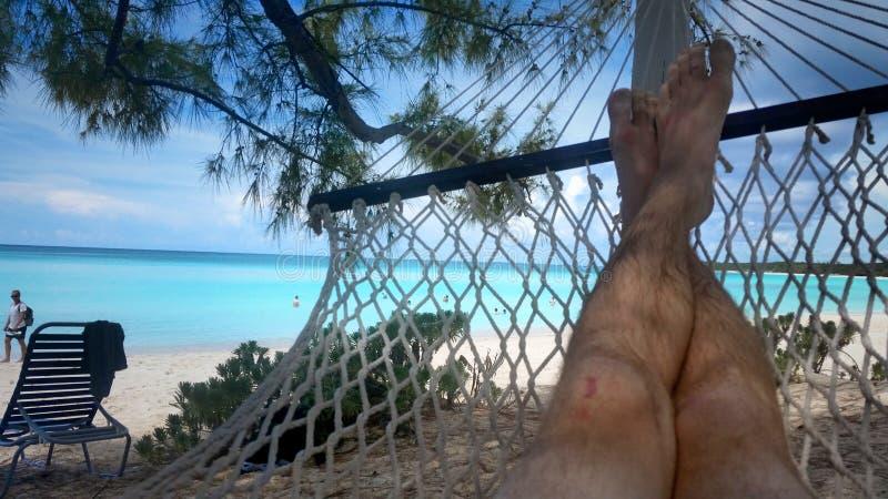 Hamak w Bahamas zdjęcia stock
