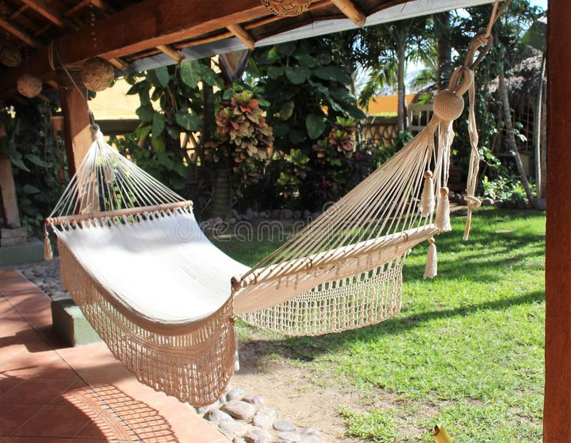 Hamak w Manzanillo fotografia stock