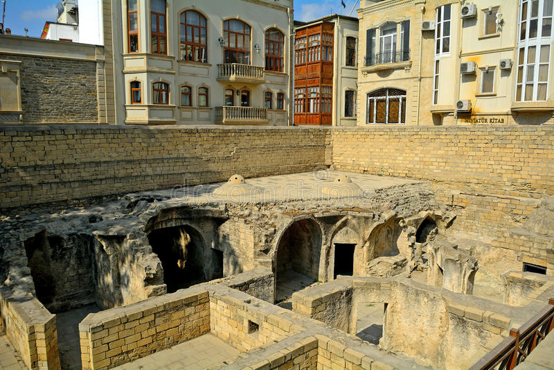 Hamam, Baku, Aserbaidschan stockbilder