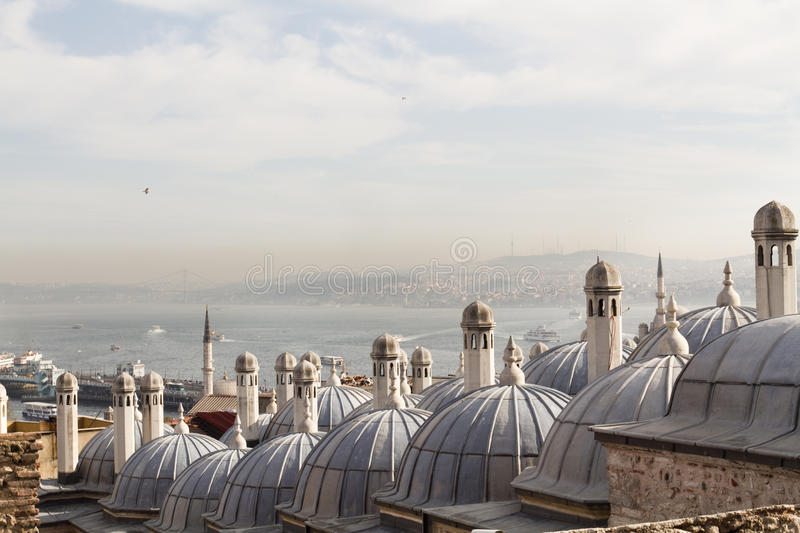 Hamam in Istanbul royalty free stock photography