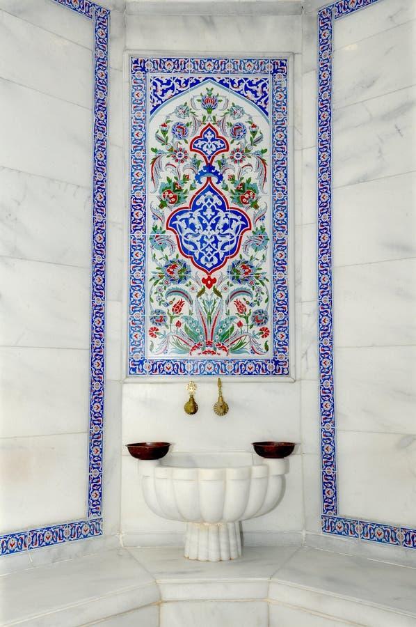 Hamam turco immagine stock