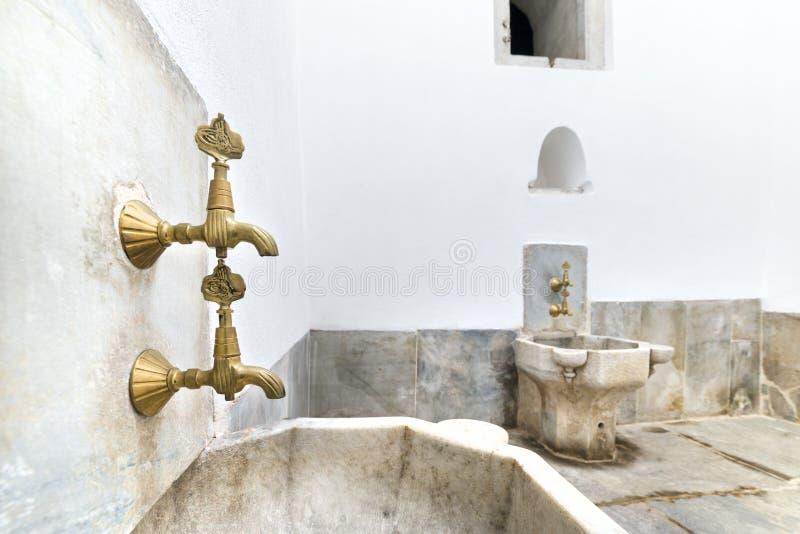 Hamam (Turkish Bath) Inside Topkapi Palace Harem, Istanbul, Turkey royalty free stock photography