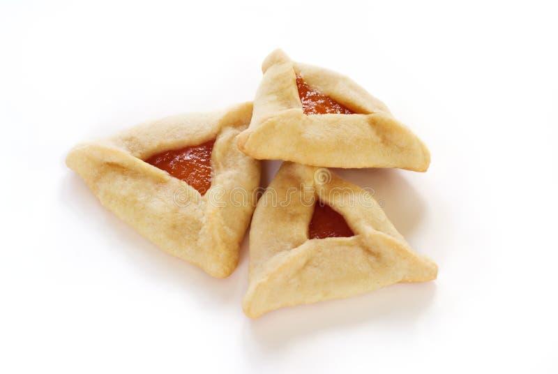 Hamantaschen Cookies royalty free stock photos