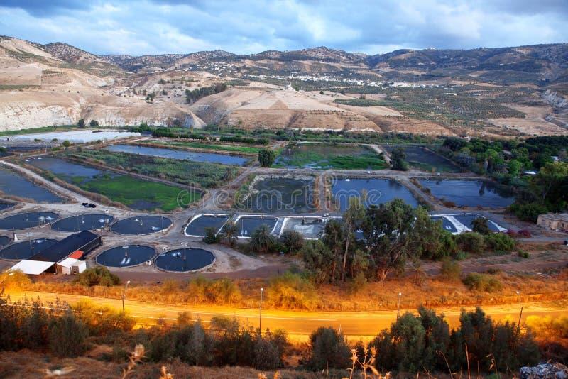 Hamat Gader, Israel imagenes de archivo