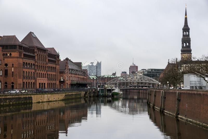 Hambourg, Allemagne photographie stock