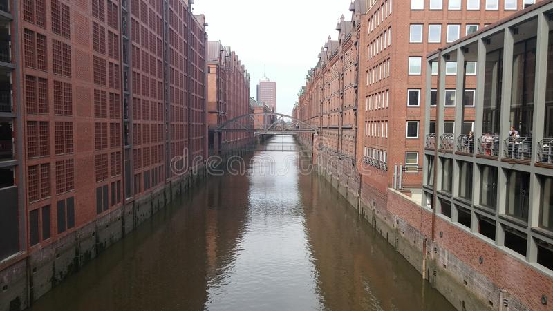 Hambourg Allemagne photographie stock