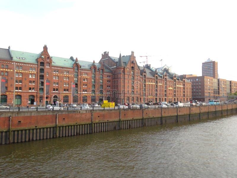 Hambourg Speicherstadt photos stock