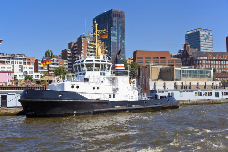Hamburg stock afbeelding
