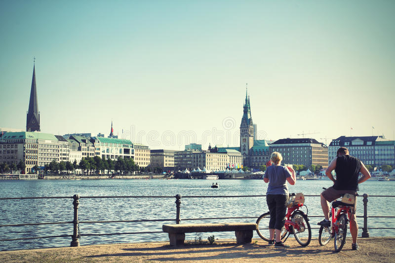 Hamburg royalty-vrije stock foto's