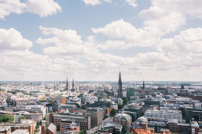 Hamburg From Above Free Public Domain Cc0 Image