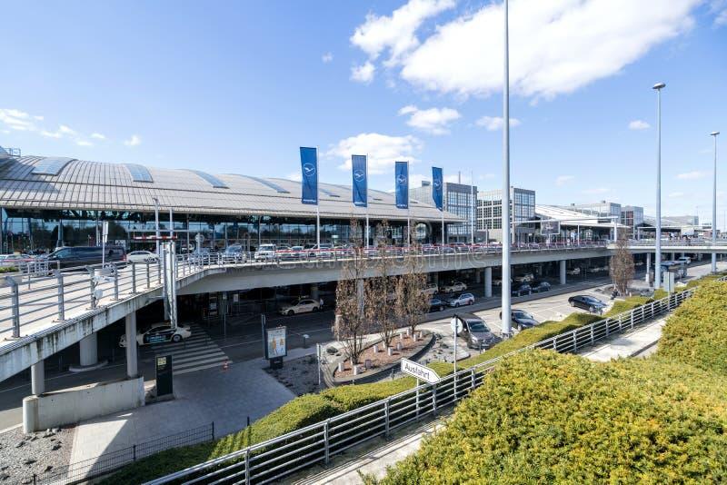 Hamburg Airport Helmut Schmidt royalty free stock images