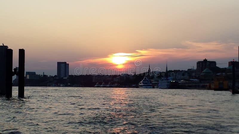 Hamburg royalty free stock photo