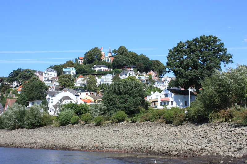 Download Hamburg Blankenese Hill Germany Stock Photo - Image of view, houses: 7608400