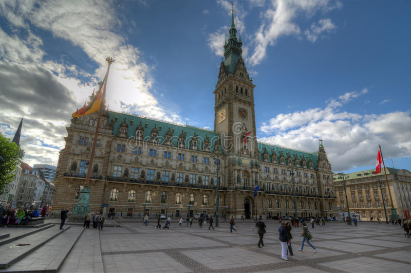 Download Hamburg City Hall editorial image. Image of hamburg, copper - 34289760