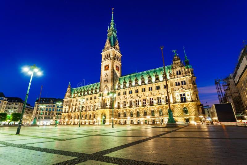 Hamburg City Hall or Rathaus. Hamburg City Hall or Hamburger Rathaus is the seat of local government of Hamburg, Germany royalty free stock photography