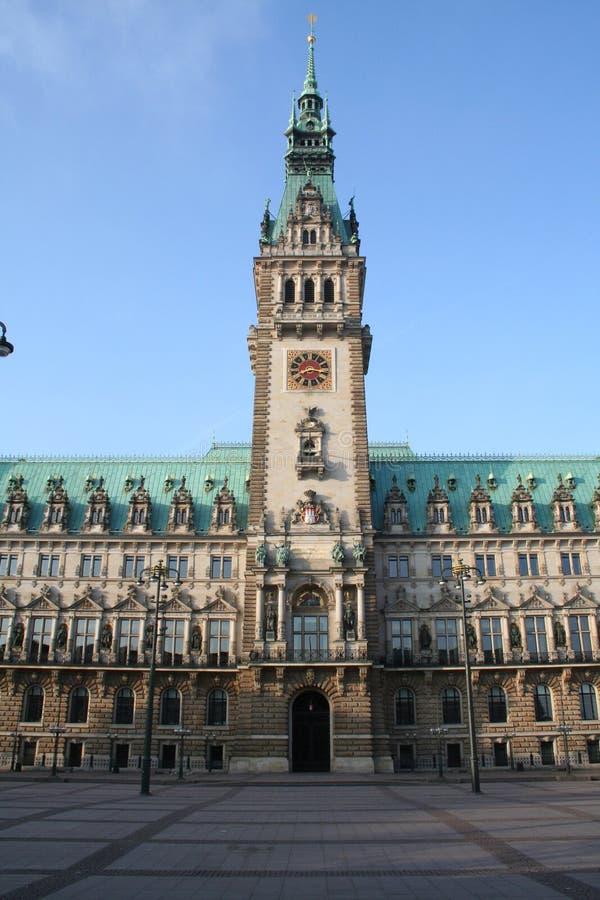 Hamburg City, Town Hall stock image