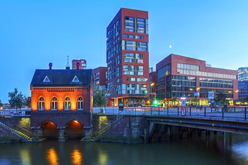 Hamburg, Duitsland royalty-vrije stock afbeelding