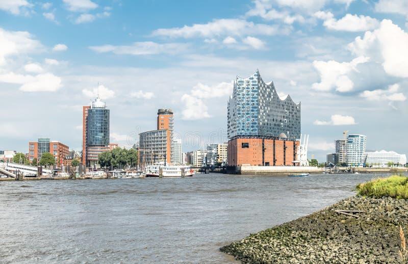 Download Hamburg, Elbphilharmonie, Speicherstadt Stockbild - Bild von oper, konzert: 96927981