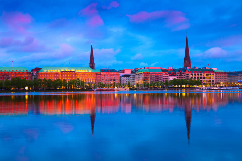 Download Hamburg, Germany stock photo. Image of europe, cloudscape - 19422586