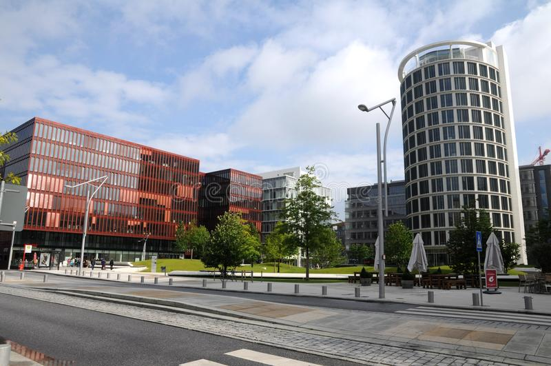 Hamburg, Hafencity - obrazy stock
