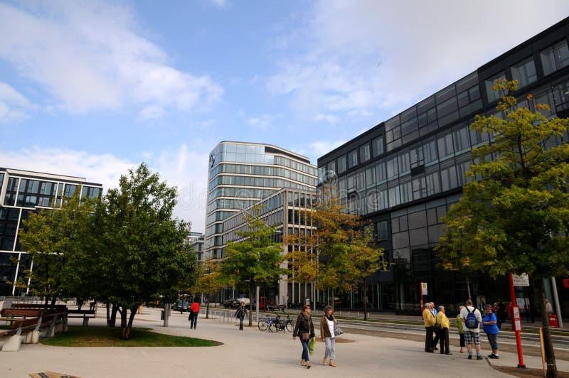 Hamburg- - Hafencitypromenade lizenzfreies stockfoto